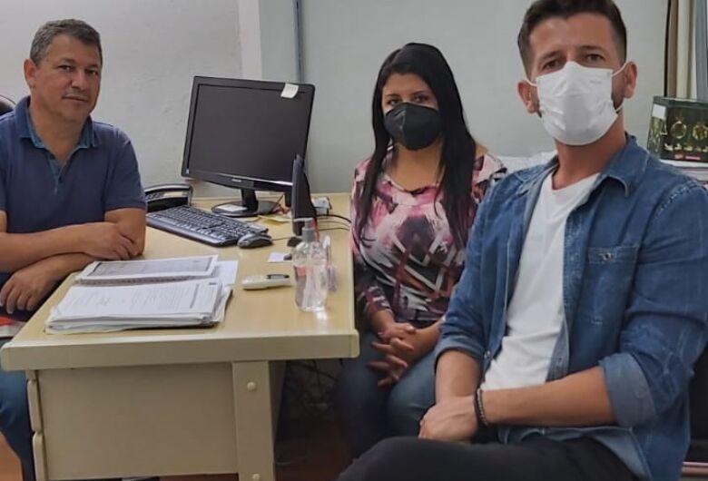 Vereador Malabim e Elton Carvalho recebem visita da assessora do Deputado Federal Celso Russomanno
