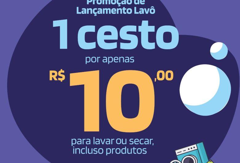 Lavô faz mega inauguração e promete um cheirinho de roupas limpas em São Carlos