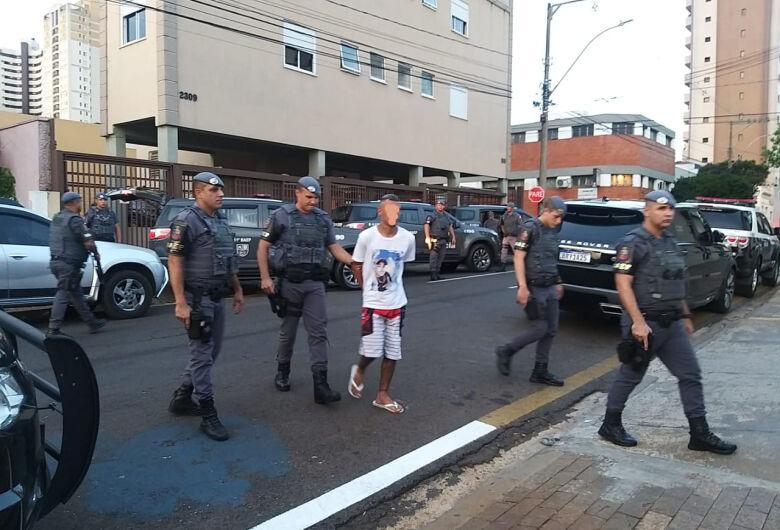 BAEP e DIG prendem suspeito de praticar vários assaltos em São Carlos e região