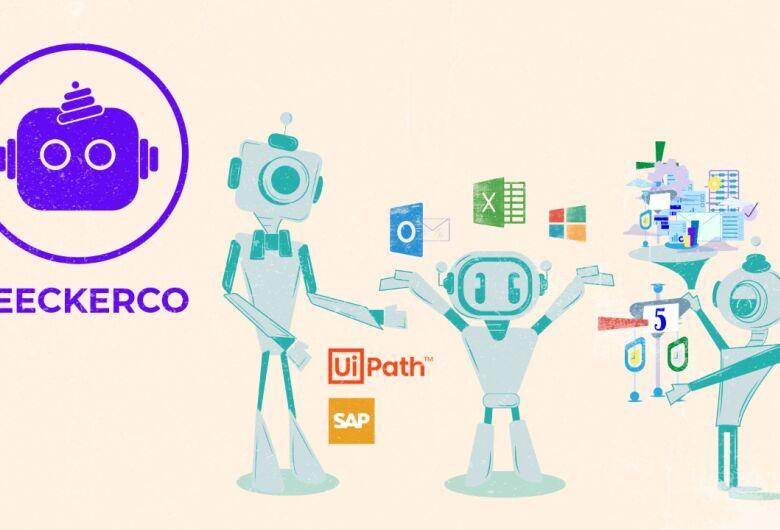 Empresa de software BeeckerCo apresenta seus robôs digitais