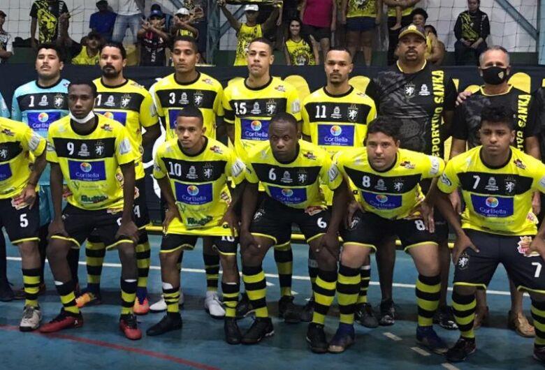 Deportivo Sanka faz segunda apresentação no 1º Torneio de Futsal