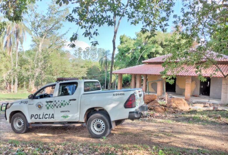 Polícia Ambiental constata degradação em Área de Proteção Permanente em São Carlos