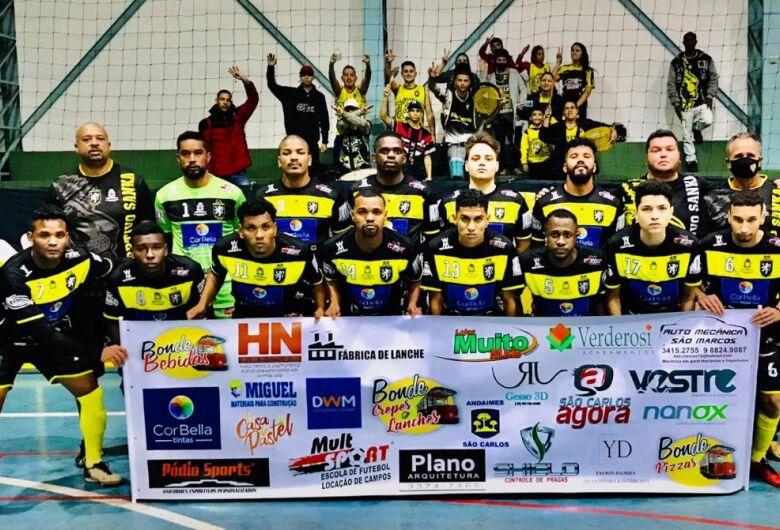 Deportivo/Bela Tinta estreia com no campeonato de Futsal