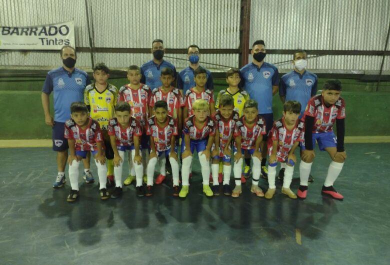 Sub10 do São Carlos Futsal vence em primeiro jogo oficial