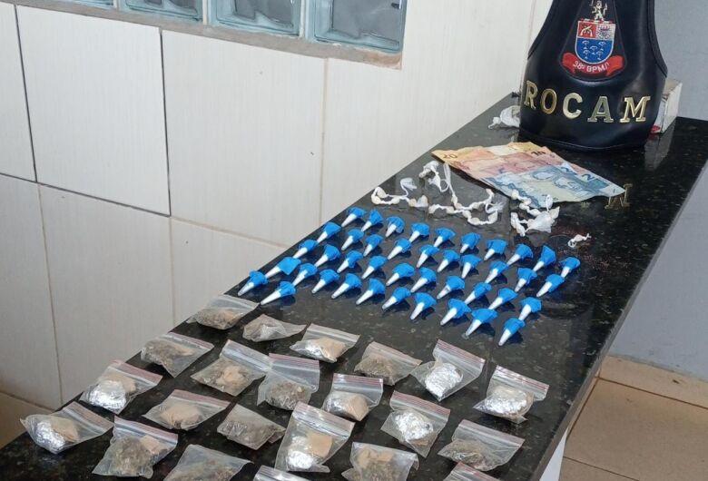 Adolescentes são detidos com drogas no Jóquei Clube