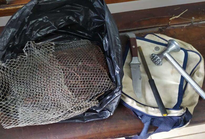 Homem é detido acusado de praticar furto em residência