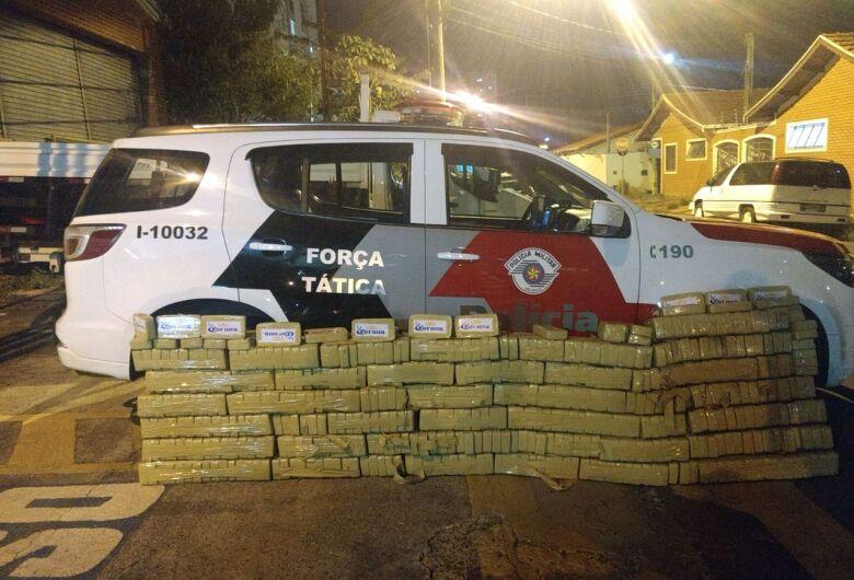 Traficantes são presos com 500 quilos de cocaína em cidade da região