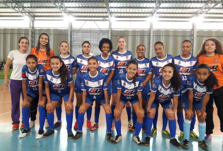 Meninas da Asf São Carlos pegam Bebedouro pela Liga Ferreirense