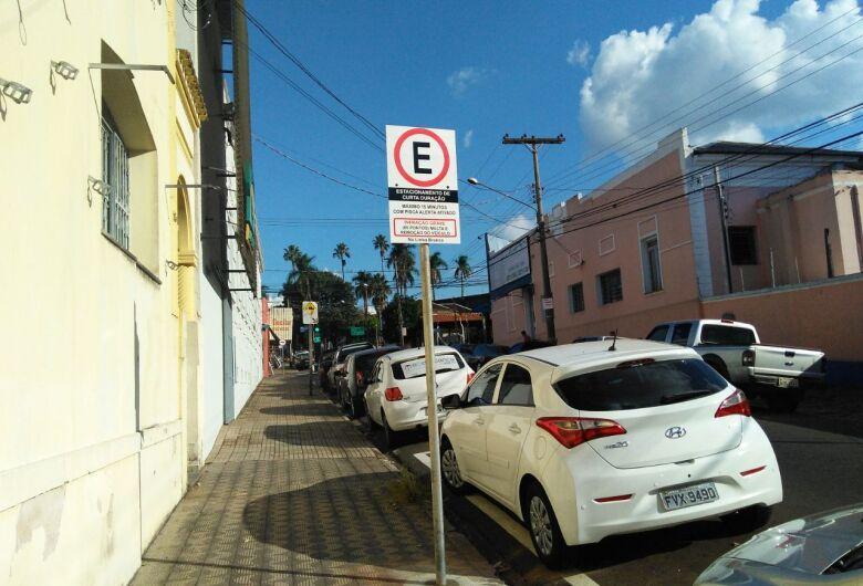 Sincomercio e posto da Jucesp têm área de estacionamento de curta duração