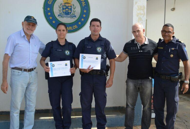 Guardas Municipais recebem homenagem