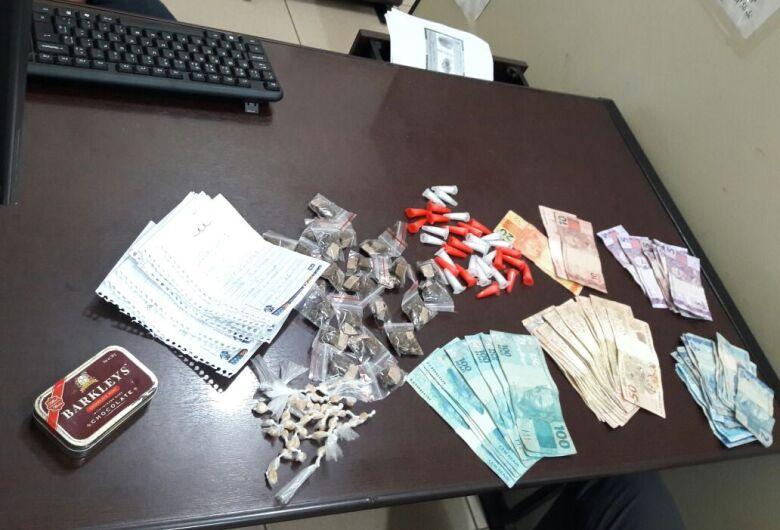 Força Tática prende traficante no Eduardo Abdelnur