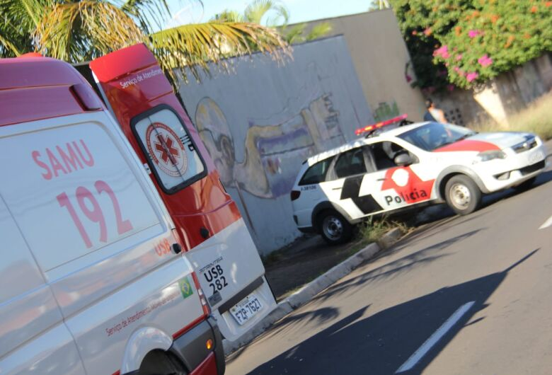 Para não atropelar cão, motorista freia carro e ocorre colisão traseira no Santa Felícia