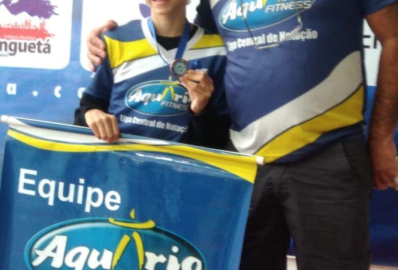 Giovana Pegion conquista bronze e está na elite na natação brasileira