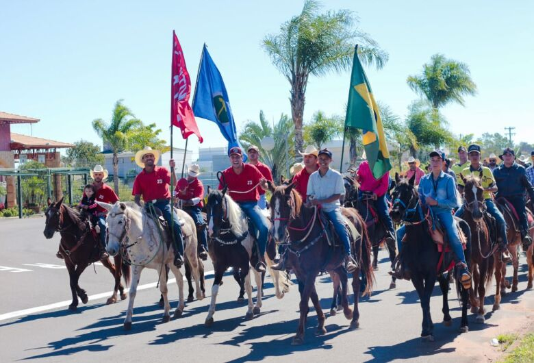 7ª Cavalgada de São Cristóvão reúne centenas de cavaleiros e amazonas em São Carlos [veja fotos]