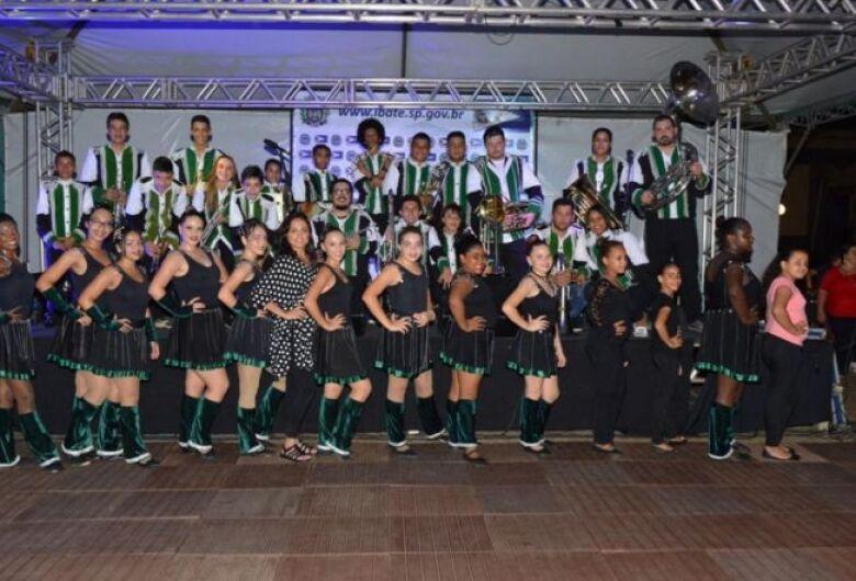 Banda Marcial de Ibaté se apresentará em Dourado