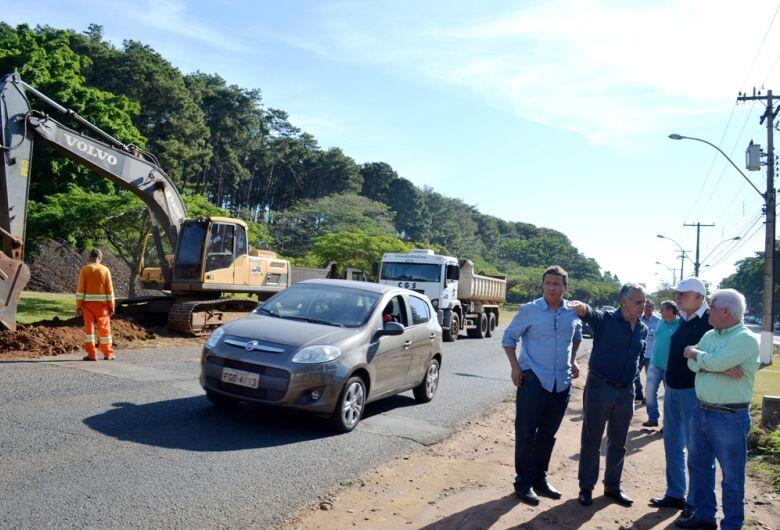DER inicia duplicação em trecho da rua Coronel José Augusto de Oliveira Salles