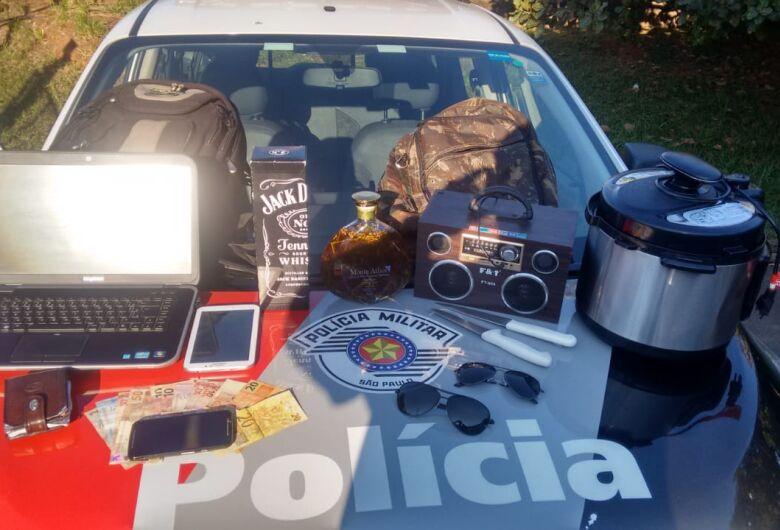 Ladrão furta residência enquanto morador dormia na Vila Prado