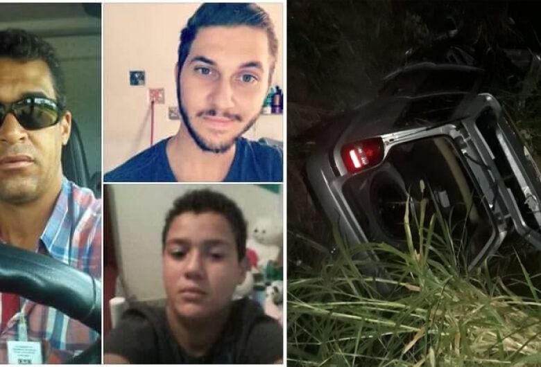 Acidente na região termina com a morte de pai, filho e sobrinho