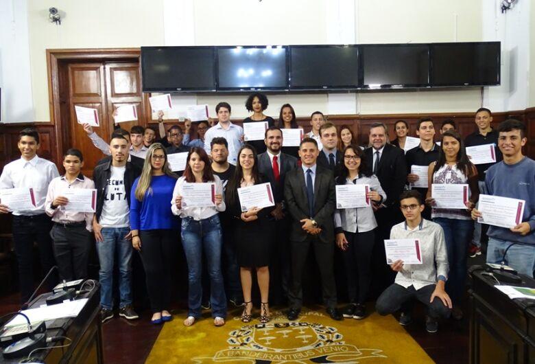Câmara realiza 2ª edição do Parlamento Jovem São-carlense