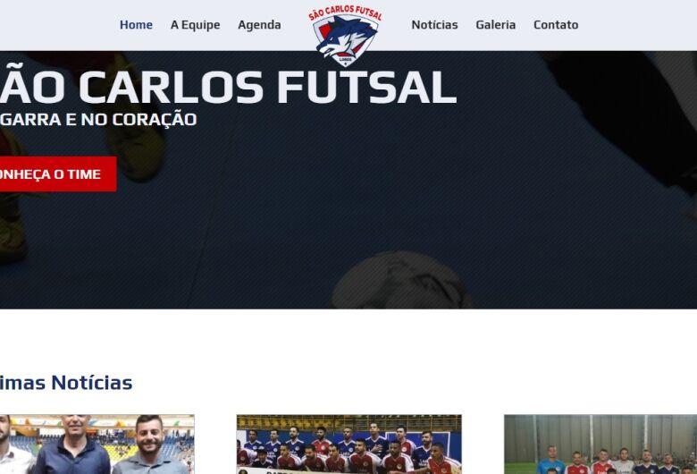 São Carlos Futsal lança site oficial e se prepara para início dos treinos