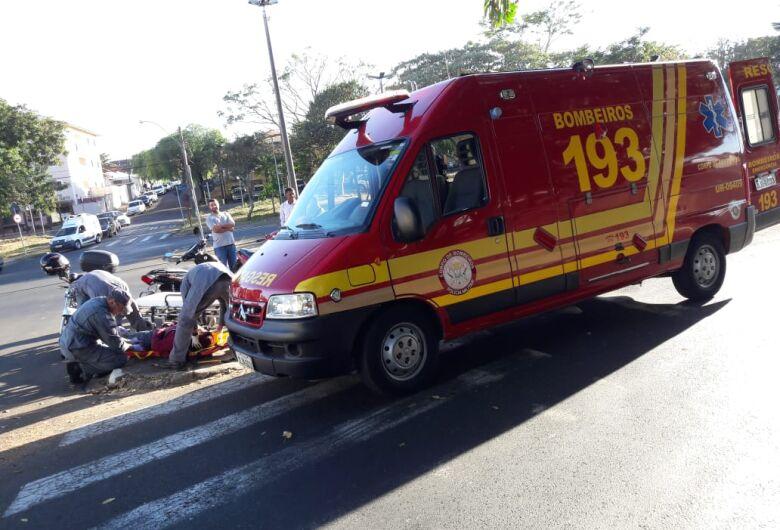 Motos colidem e duas mulheres ficam feridas no Macarengo