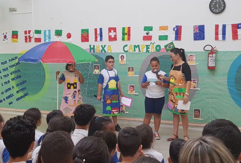Escola Municipal conta a história de Ibaté