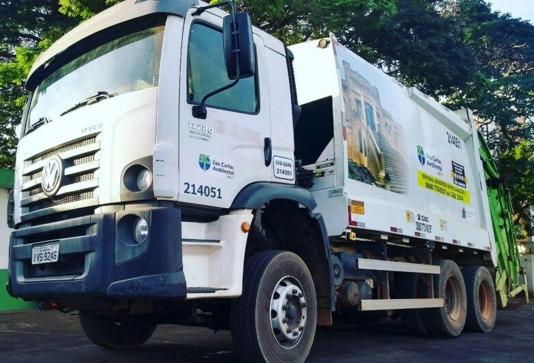 Coleta de lixo sofre alteração em seis bairros de São Carlos