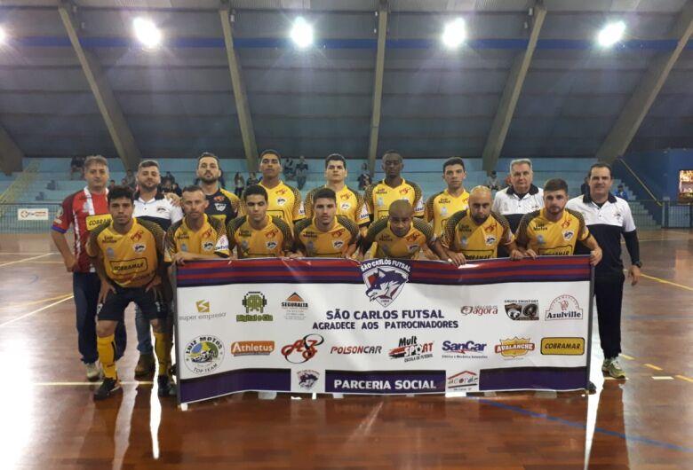 São Carlos Futsal estreia com vitória em cima do atual campeão da Copa Record