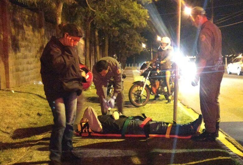 Motos colidem no Jardim Ipanema; dois feridos