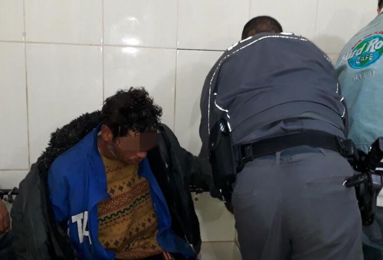Desocupado é detido com crack em Ibaté
