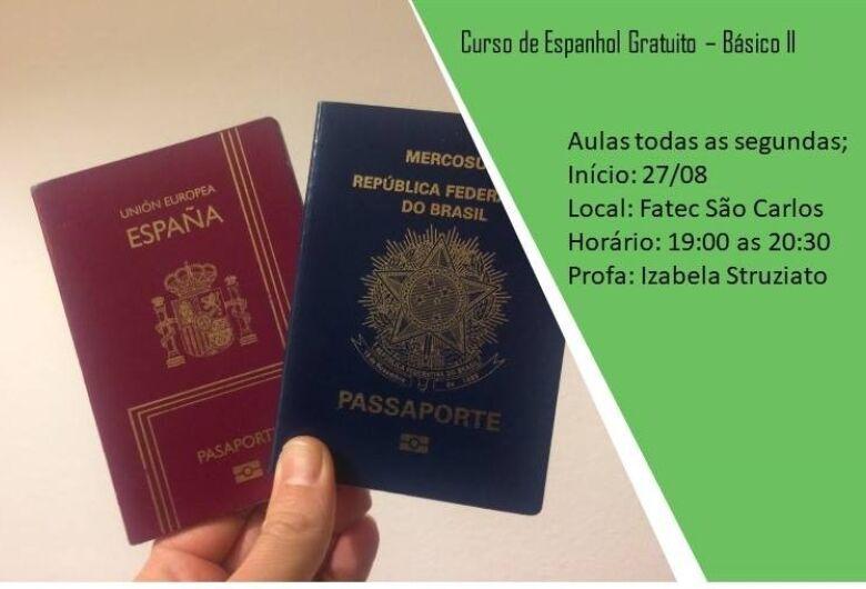Fatec São Carlos realizará curso de Espanhol Básico I e II gratuitamente