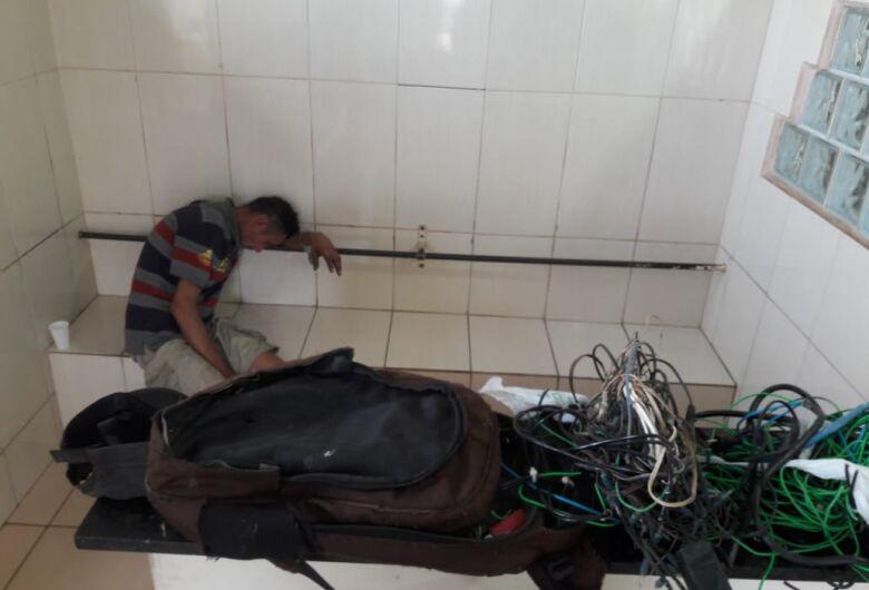 Desocupado é detido pela Rocam após furto no Santa Felícia