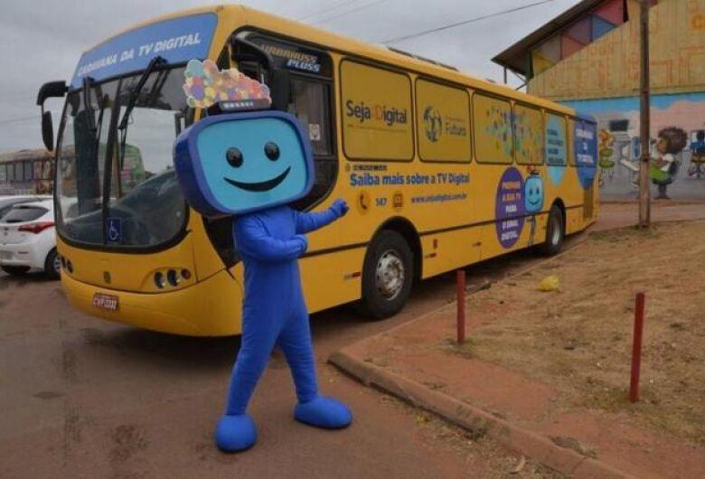 Caravana da TV Digital estará na região de São Carlos durante esta semana