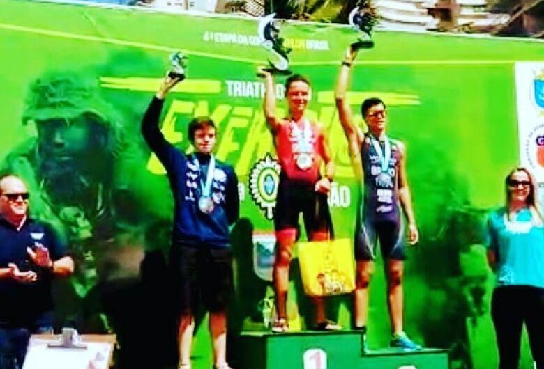 São-carlense vence a Copa Brasil de Triathlon