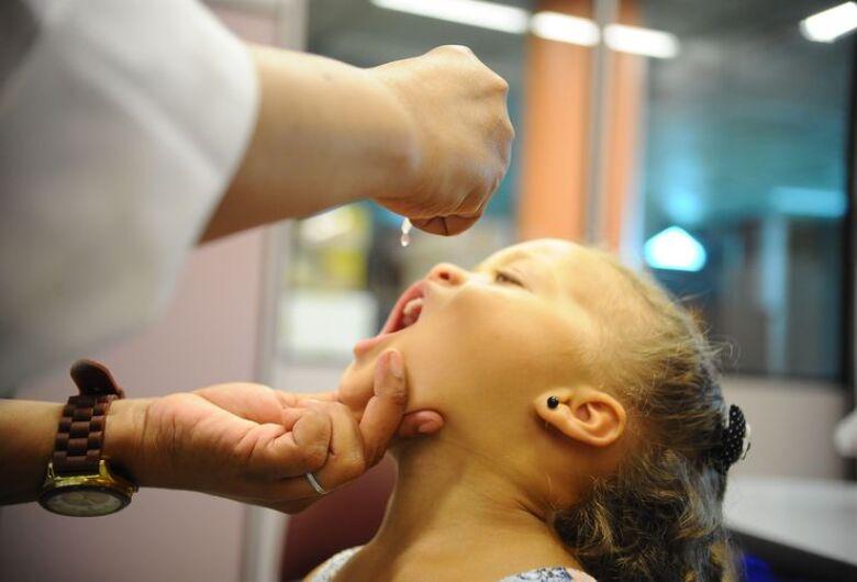 Dia D de vacinação contra pólio e sarampo será neste sábado (18)