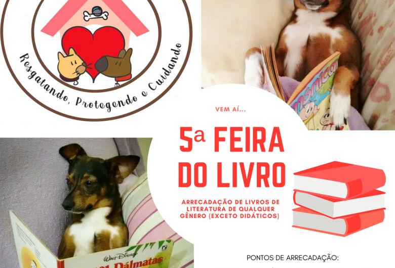 Grupo Pró-Animal promoverá 5ª Feira do Livro e busca doações