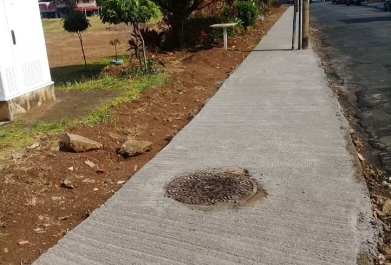 Malabim tem solicitação atendida e consegue calçada na rua Júlio Cassin Filho no Santa Felícia