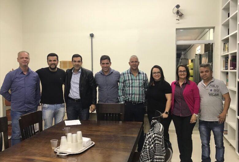 Vereadores Rodson e Lucão recebem representantes de sindicato
