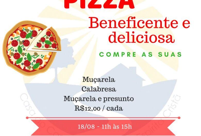 Pizza Beneficiente Casa do Caminho acontece neste sábado (18)