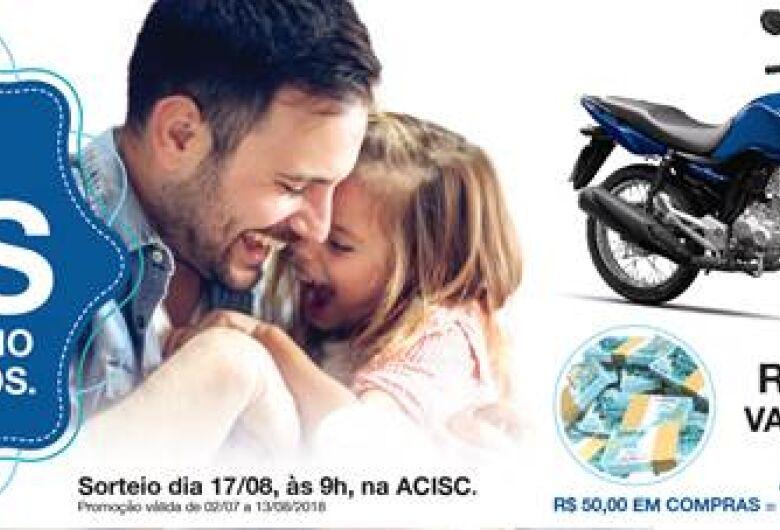 """Acisc convida para sorteio da promoção do """"Dia dos Pais"""""""