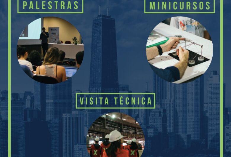 Semana da Engenharia Civil da UFSCar acontece de 24 a 28 de setembro