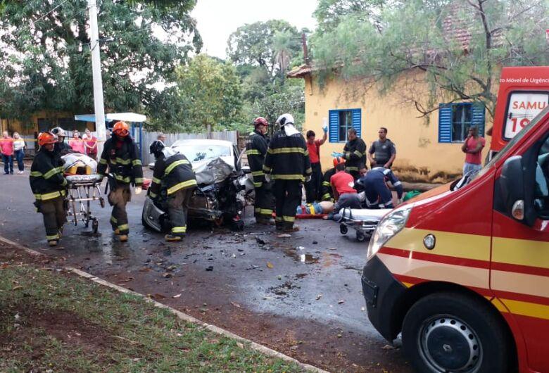 Grave acidente mata uma pessoa em cidade da região