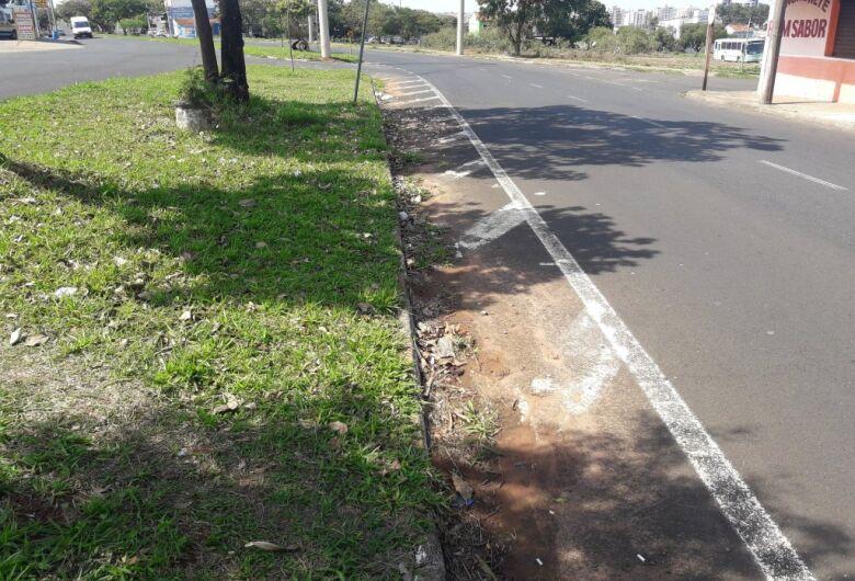 Sérgio Rocha pede redutor de velocidade para evitar acidentes na Av. Bruno Ruggiero Filho