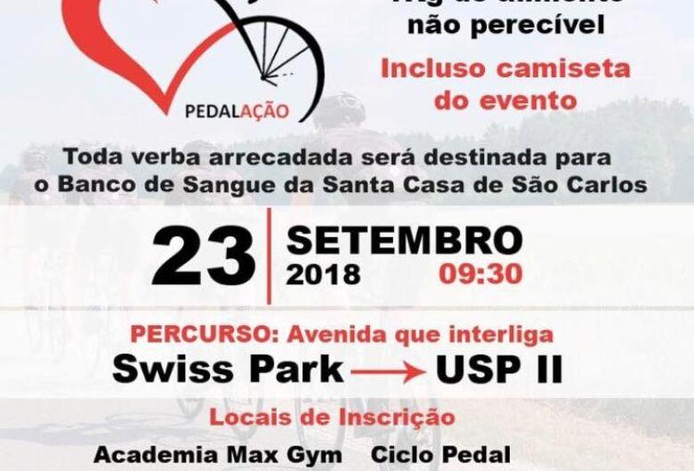 Domingo ocorrerá passeio ciclístico em prol do Banco de Sangue Santa Casa
