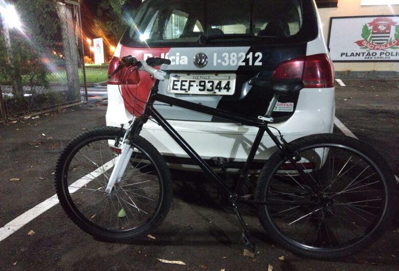 Ao tentar furtar bike, ladrão apanha em Ibaté