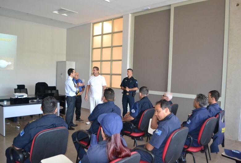 Guarda Civil de Ibaté passa por Ciclo de Palestras Educacionais