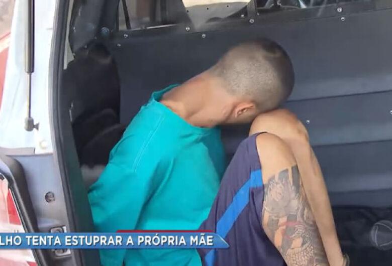 Filho é acusado de tentar estuprar a mãe no interior de SP