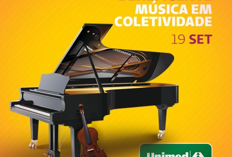 Unimed São Carlos realiza Recital Beneficente – Música em Coletividade