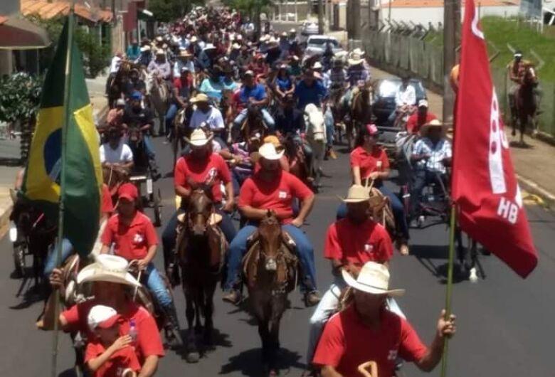 Cavalgada de São Francisco de Assis movimenta domingo em Ibaté