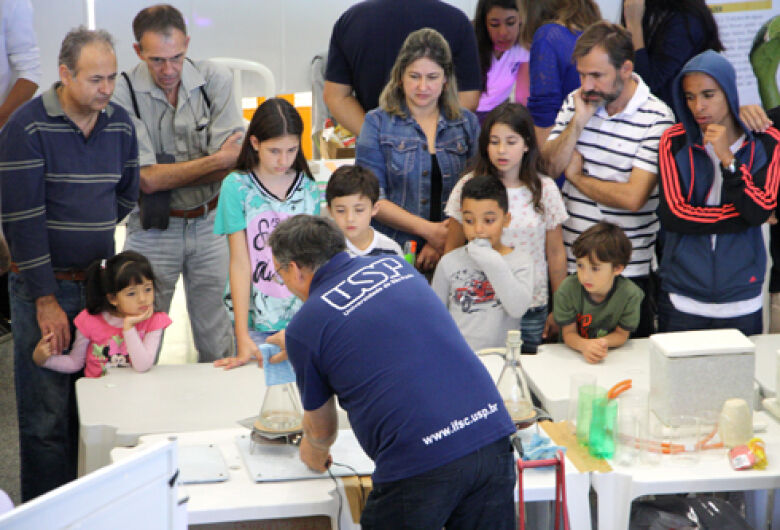 Feira de Ciência e Tecnologia em São Carlos terá a participação de 600 estudantes